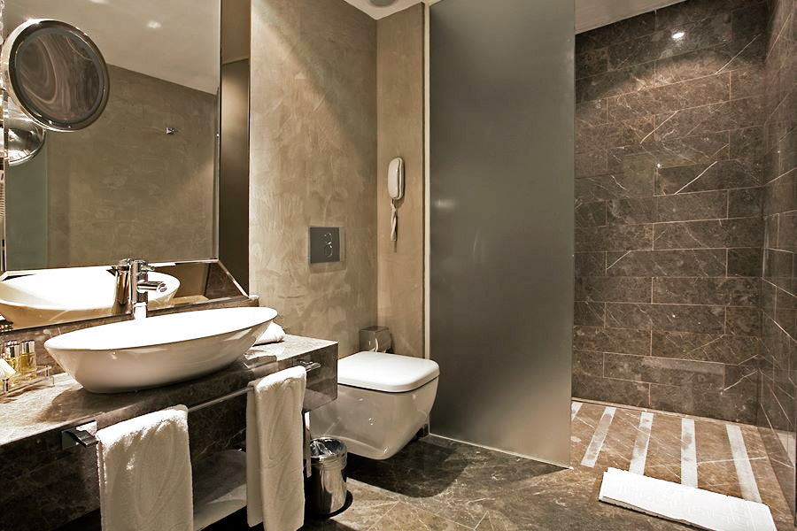 otantik lüks banyo dekorasyonu