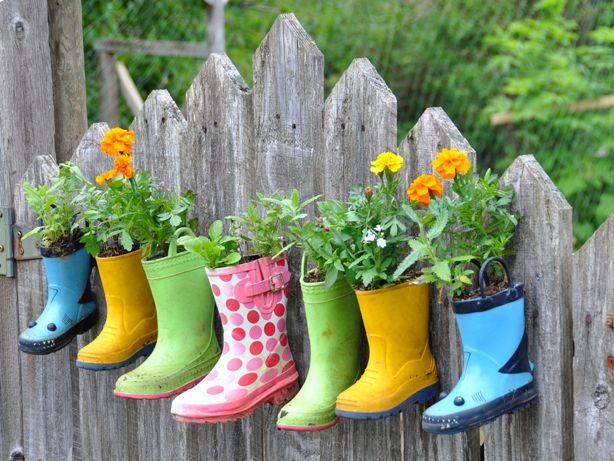 Bahçe Dekorasyonunda İlginç Fikirler (5)