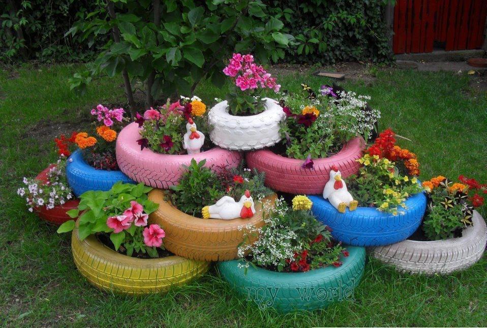Bahçe Dekorasyonunda İlginç Fikirler (7)