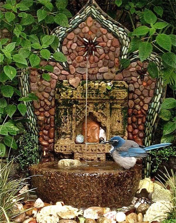 Bahçe Dekorasyonunda İlginç Fikirler (9)