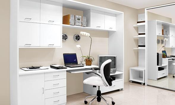 ofis dekorasyon modelleri beyaz