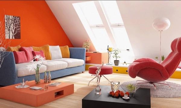Küçük Salonlarda Renk Tercihleri
