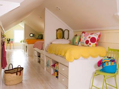 Kardeş Odaları İçin Dekorasyon modelleri (1)