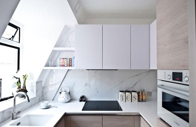 en güzel küçük mutfak tasarımları