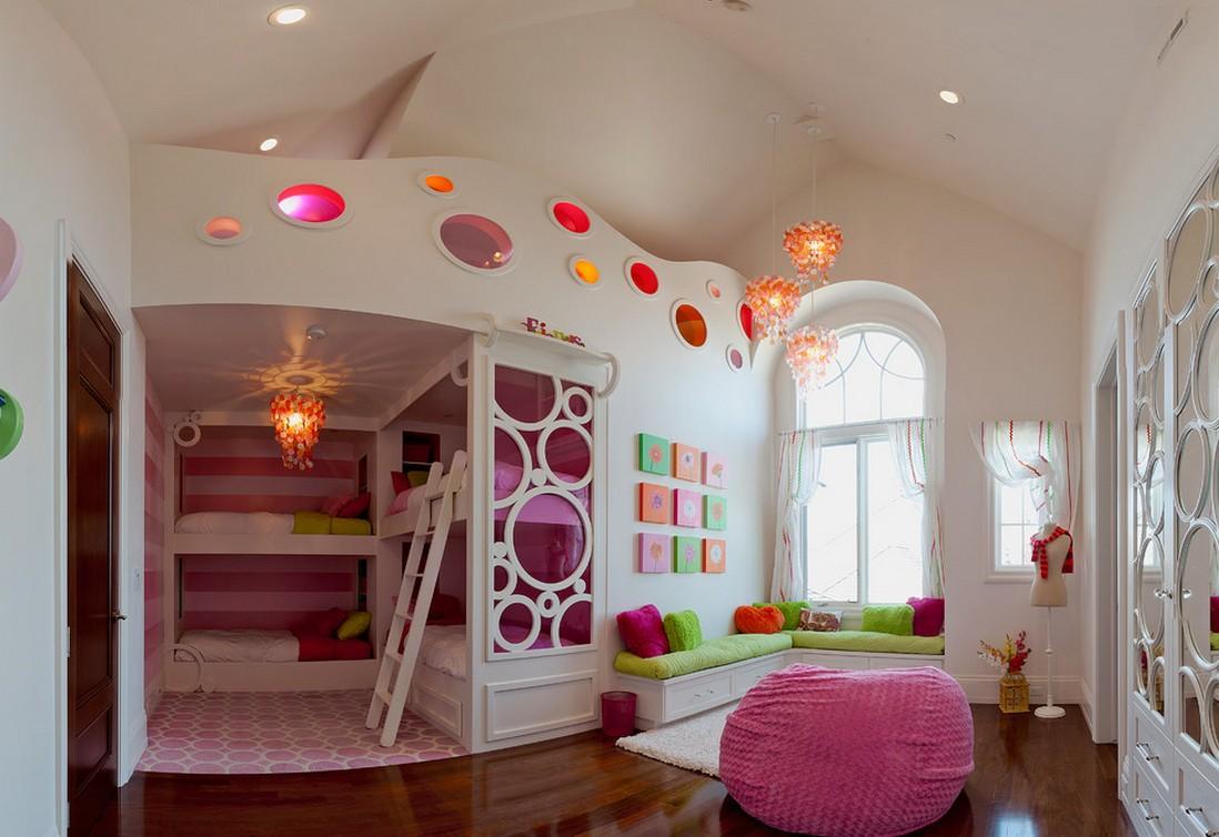 en güzel kız çocuk odası dekorasyonu
