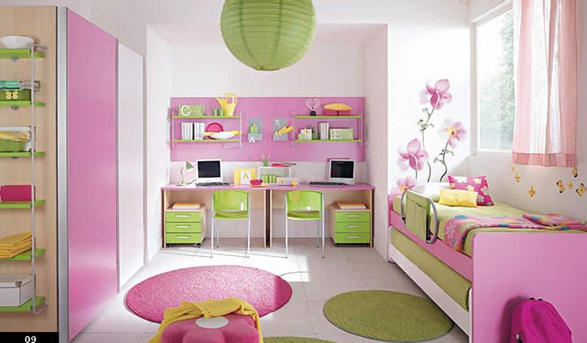 kiz odasi dekorasyon fikirleri