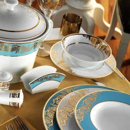 Beautiful Kütahya Porselen İris Yemek Takımı Modern Yemek Takımları
