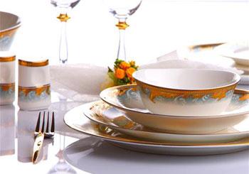 Beautiful Sarı ... Modern Yemek Takımları