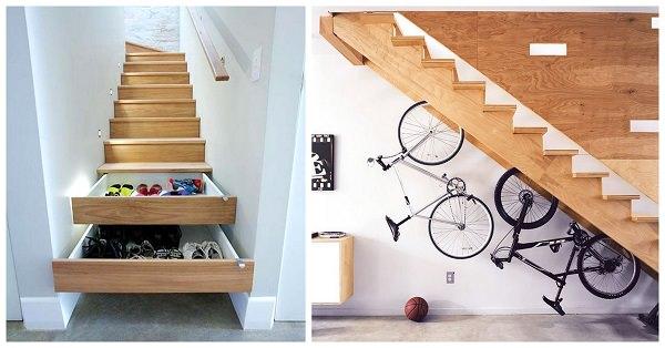 Compact 9 merdiven altı boşlukları değerlendirme Küçük odalar  için pratik çözümler