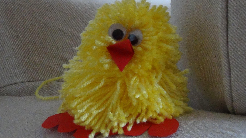 Compact (DIY) Civciv Ve Ponpon Yapımı ponpondan oyuncak yapımı