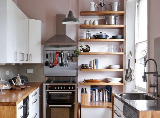 Cool ... bir mutfağınız olabilir ya küçük mutfaklar için eşya seçimi