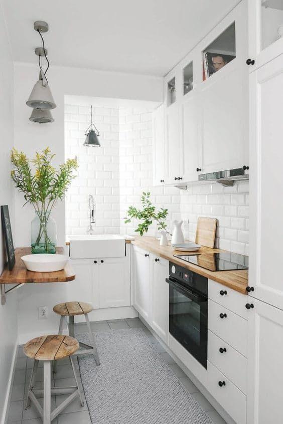 Cool Küçük mutfaklar için pratik bilgiler küçük mutfaklar için eşya seçimi