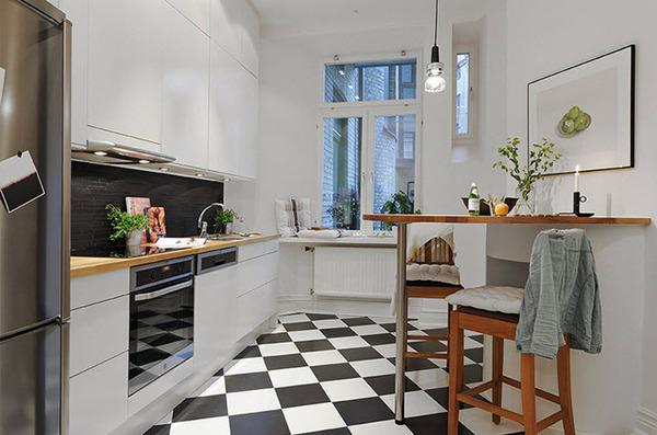 Cozy 2Mutfakta Az Eşya Kullanmak küçük mutfaklar için eşya seçimi