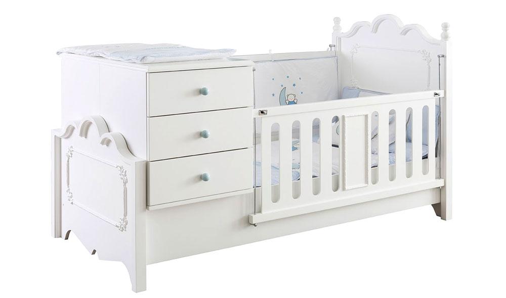craft bebek odası country büyüyen beşik