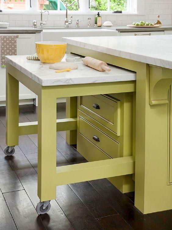 Elegant Küçük mutfaklar için pratik bilgiler küçük mutfaklar için eşya seçimi
