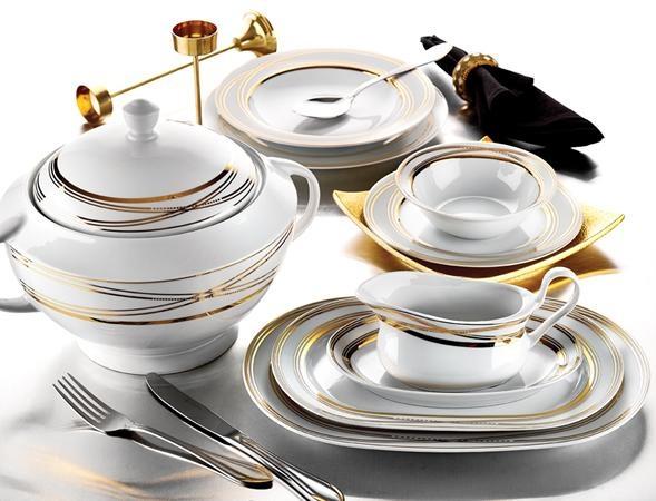Images of karaca-modern-yaldızlı-yemek-takımı-modelleri Modern Yemek Takımları