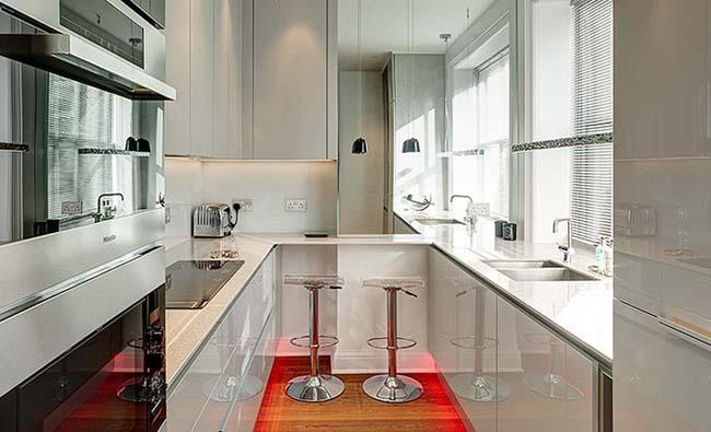 Luxury masa dekorasyon kucuk mutfak ... küçük mutfaklar için eşya seçimi