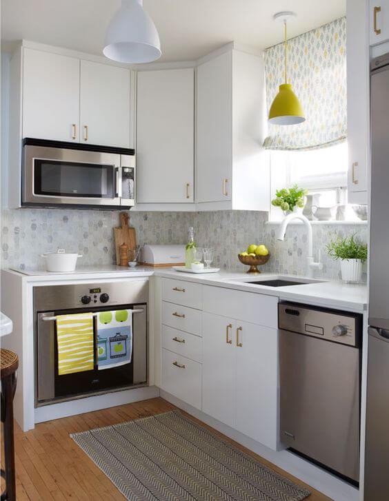 Pictures of Küçük Mutfaklar İçin Dekorasyon Seçimleri, küçük mutfaklar için eşya seçimi