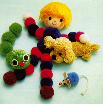 Simple ponpondan yapılan oyuncaklar: ponpondan oyuncak ponpondan oyuncak yapımı