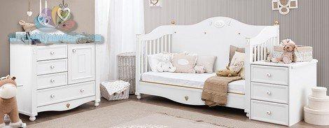 Elegant NATURA BABY BEBEK ODASI TAKIMI 2018 Kelebek Çocuk Odası Modelleri