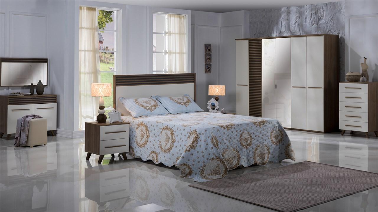 Modern Violet Yatak Odası Takımı 2018 Bellona Yatak Odası Takımı