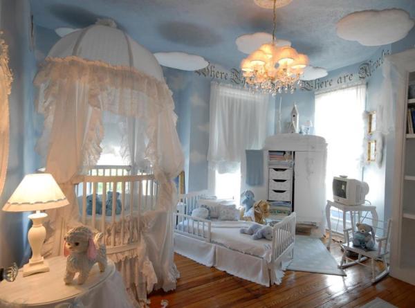 Amazing Bebek Bebek Yatak Odası Dekorasyon Fikirleri
