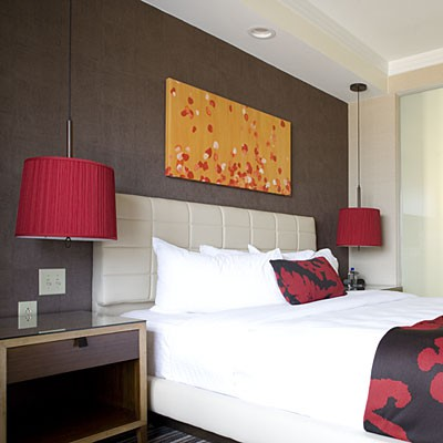 Amazing Dekorasyon İdeal Yatak Odası Lambalarını Seçme