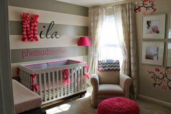 Beautiful Bebek Bebek Yatak Odası Dekorasyon Fikirleri