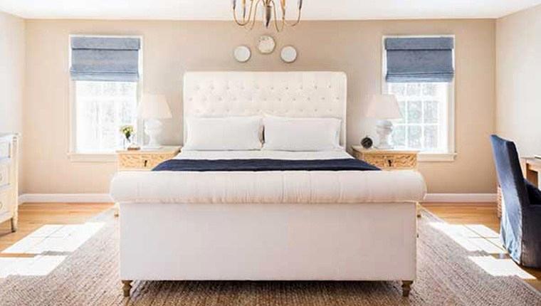 Beautiful Huzurlu Bütçe bilinçli yatak odası dekorasyon fikirleri
