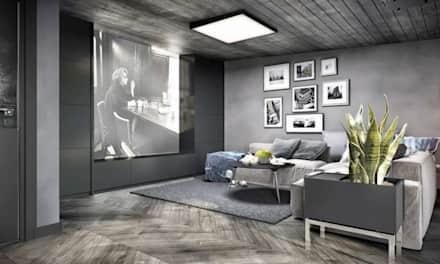 Beautiful VERO Modern İç Tasarım Temasında Deri Koltukların Kullanılması