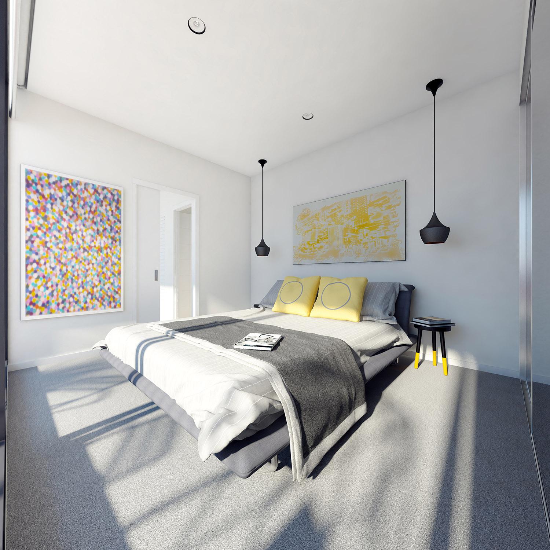 Luxury Ev Bütçe bilinçli yatak odası dekorasyon fikirleri