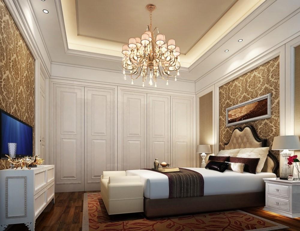 Chic Tavan İdeal Yatak Odası Lambalarını Seçme
