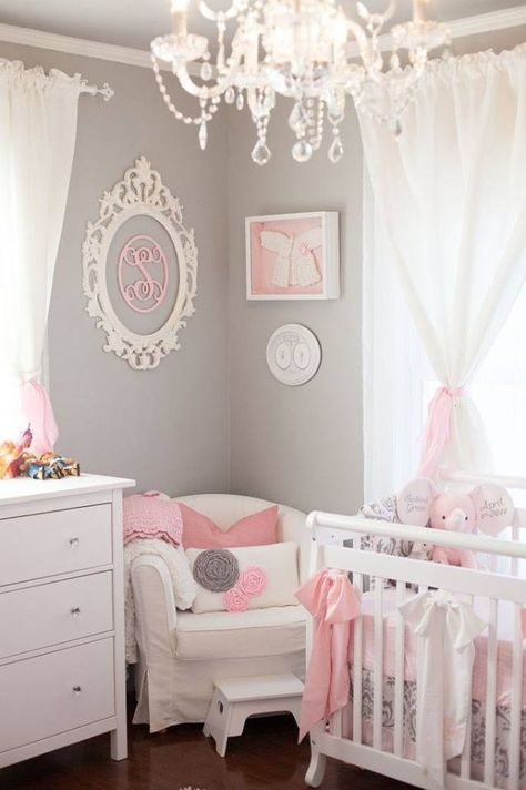 Chic Tiny Bebek Yatak Odası Dekorasyon Fikirleri
