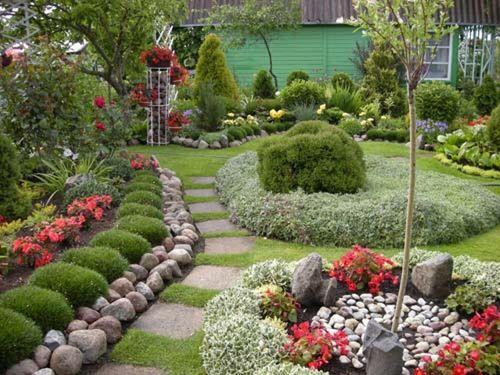 Compact Çiçek Ev Peyzaj Bahçe için  Bitki Seçimi İpuçları