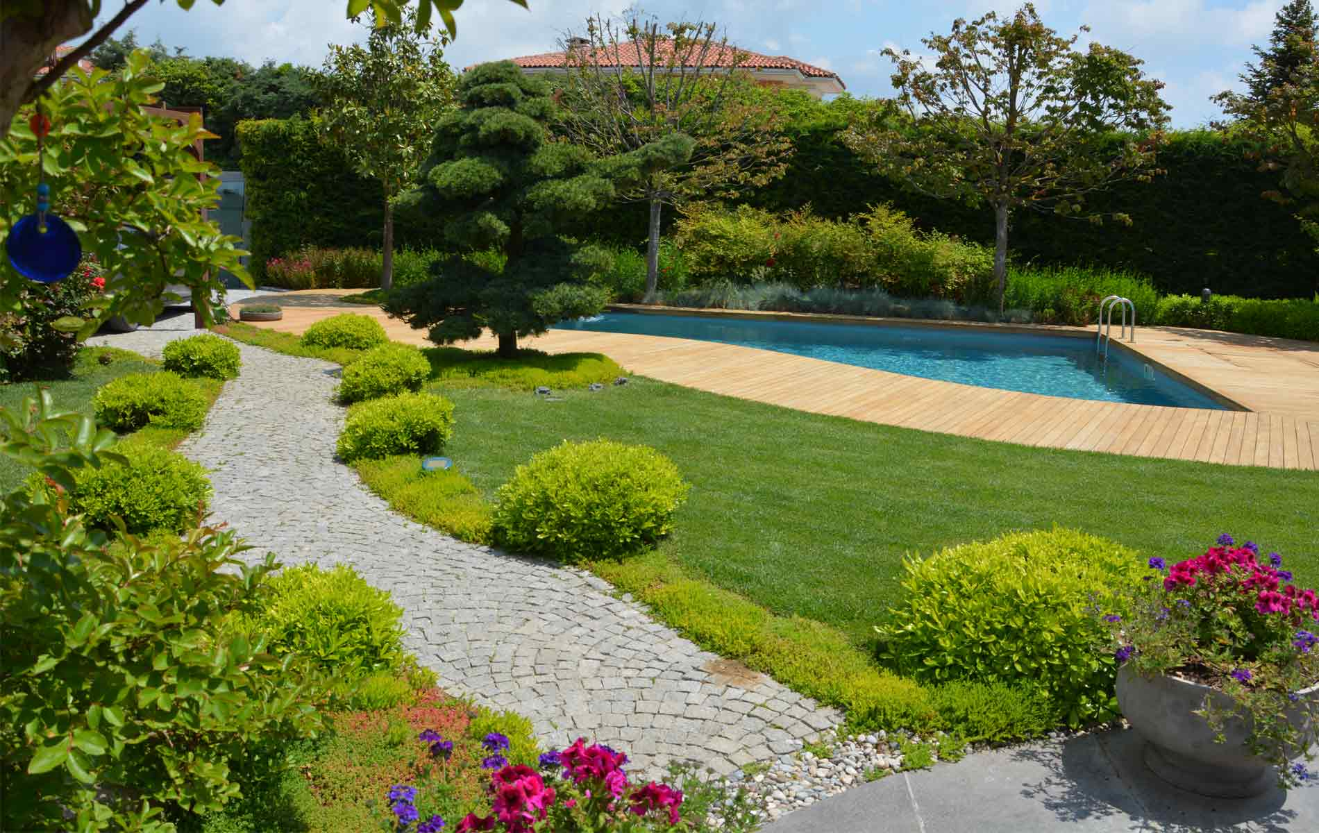 Cozy PEYZAJ Ev Peyzaj Bahçe Planlama