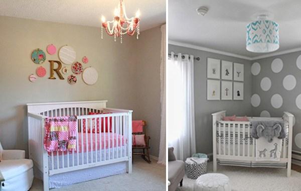Elegant bebek-odasi3 Bebek Yatak Odası Dekorasyon Fikirleri