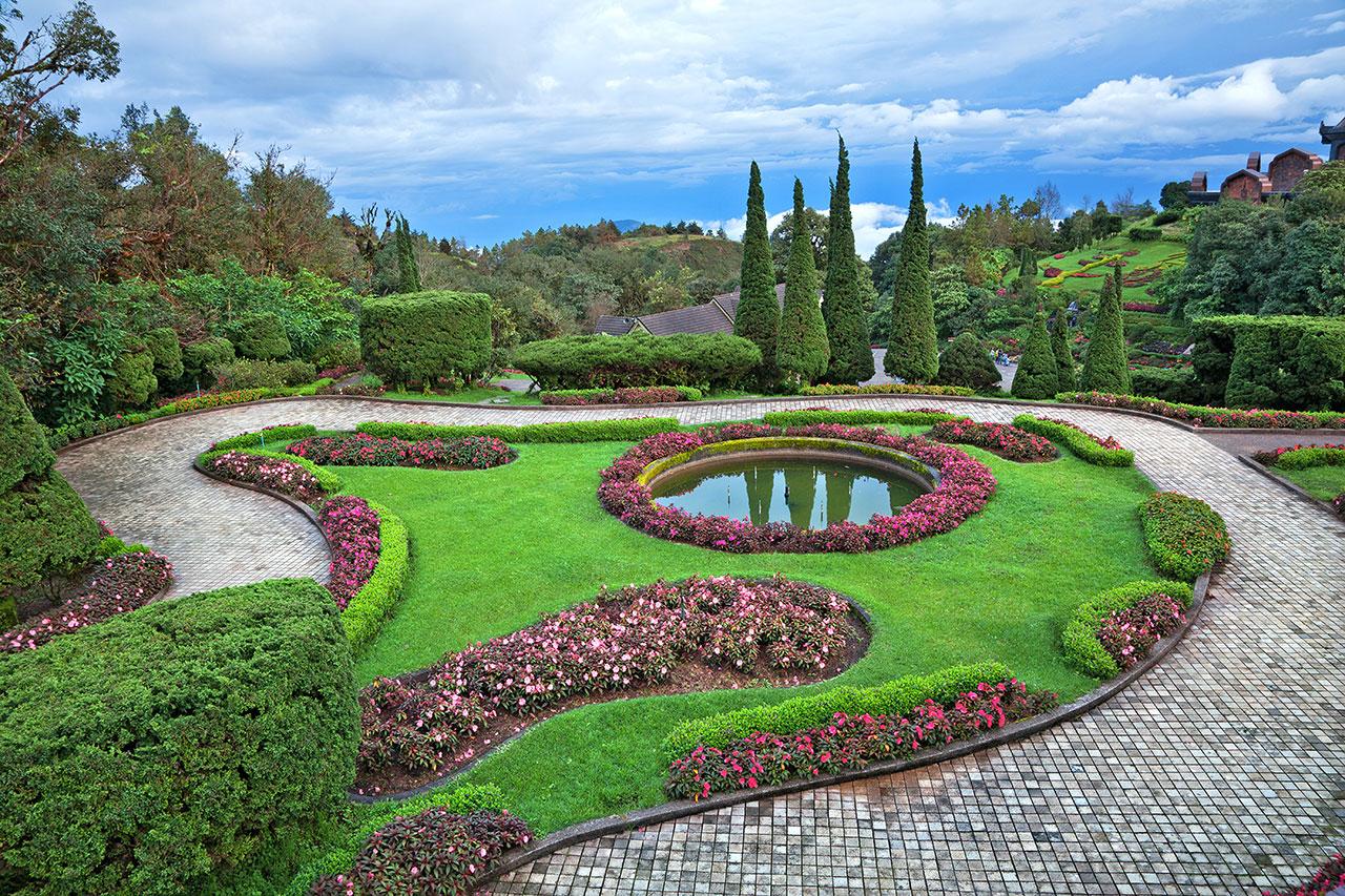 Stunning Peyzaj Ev Peyzaj Bahçe için  Bitki Seçimi İpuçları