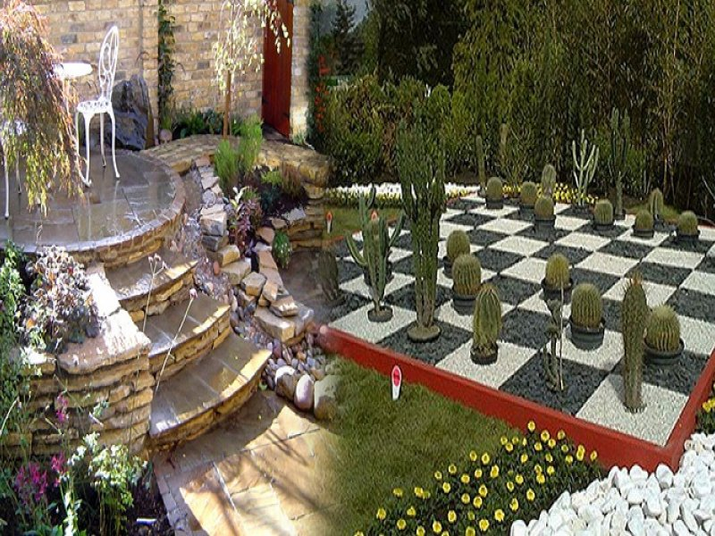 Modern ... Ev Peyzaj Bahçe Planlama