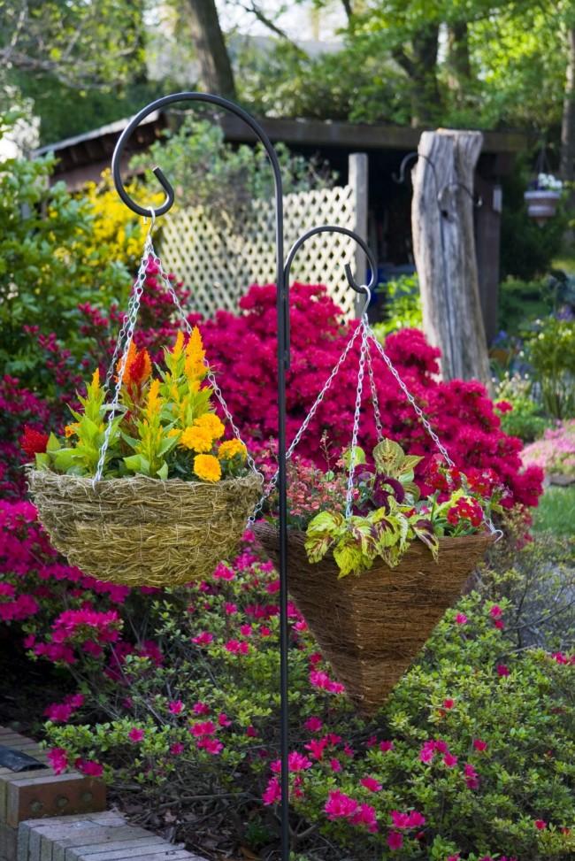 Stylish Evin Güzel Bir Çiçek Bahçesi Oluşturmak
