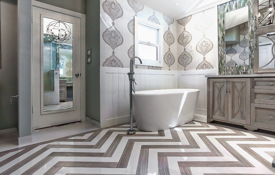 banyo duvar dekorasyon tasarımları 2018