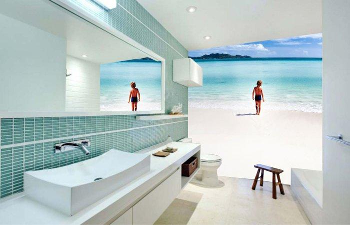 banyo duvar dekorasyonu