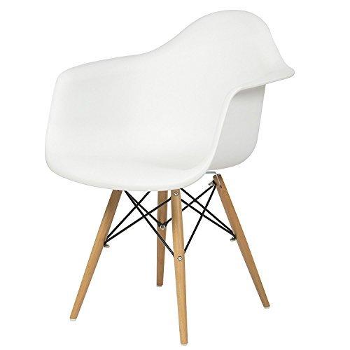 beyaz modern sandalye