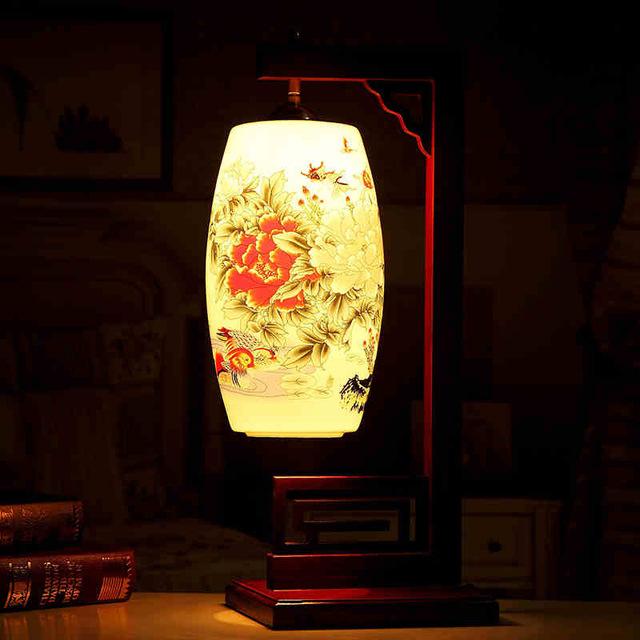 en güzel Avrupa tarzı lamba yatak odası baş ucu masa lambaları