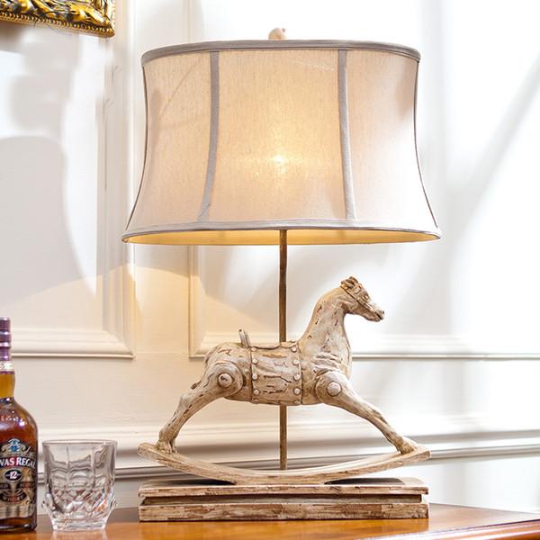 en iyi Avrupa tarzı lamba yatak odası baş ucu masa lambaları
