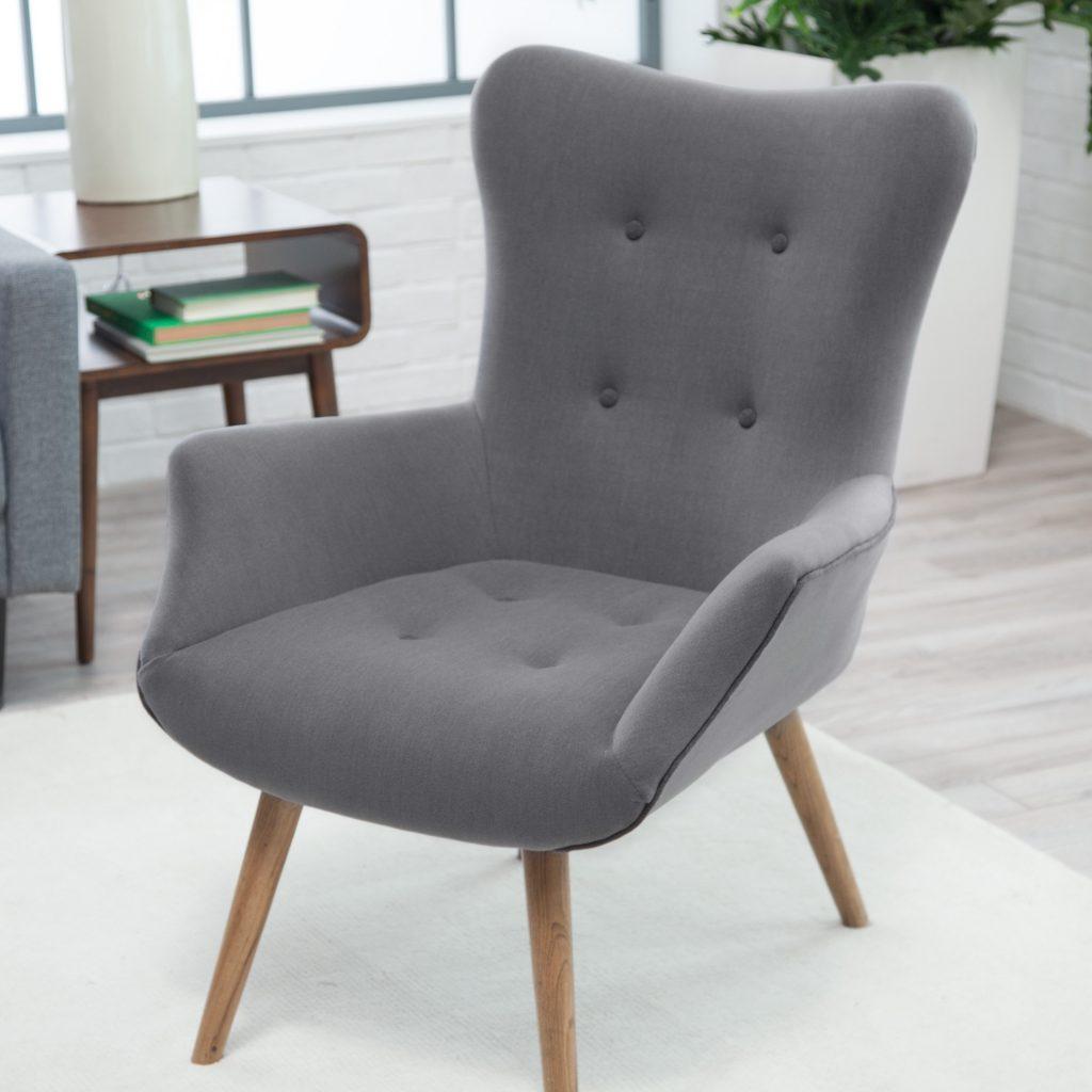 gri modern koltuk tasarımı