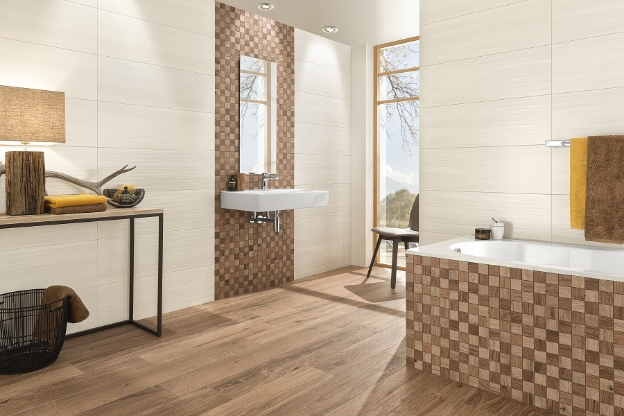 modern banyo duvar fikirleri