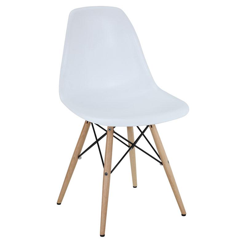 modern beyaz sandalye tasarımı