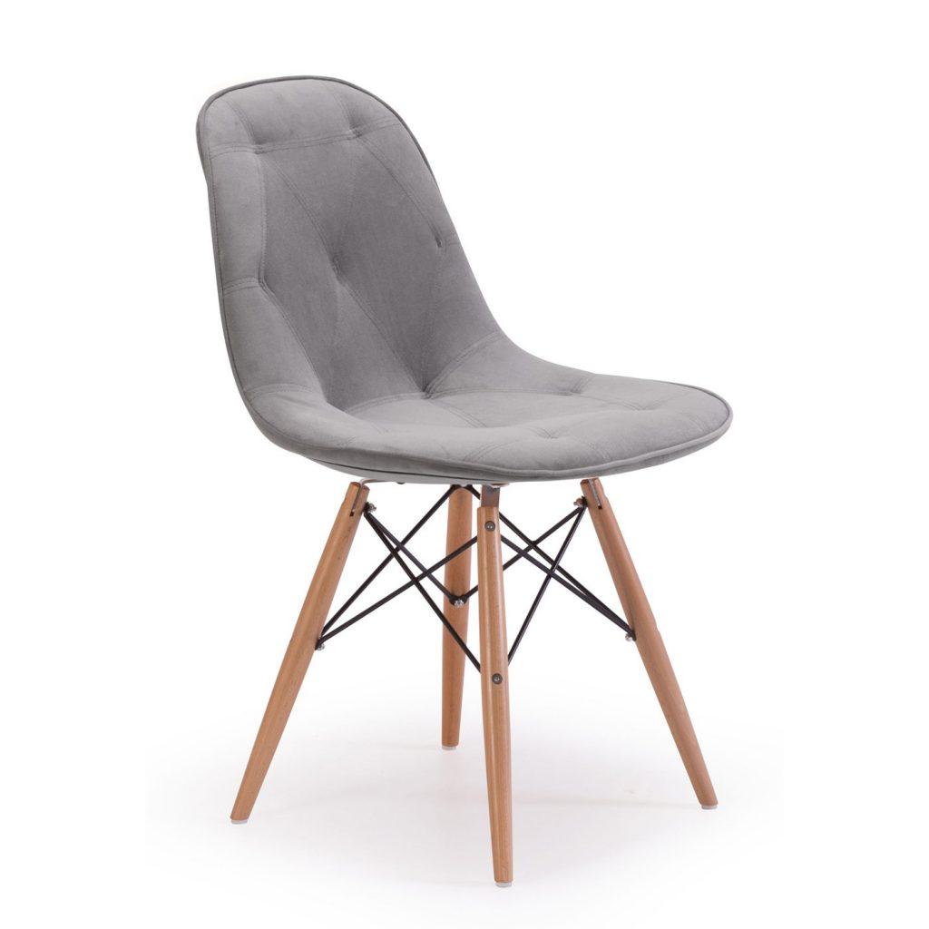 modern sandalye tasarımı gri
