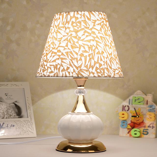 seramik masa lambası