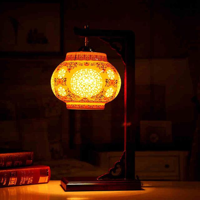 vintage masa lambası